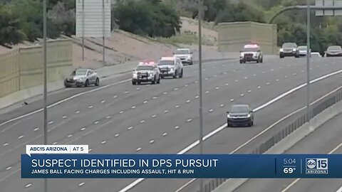 DPS identifies driver who led troopers on low-speed chase over the weekend