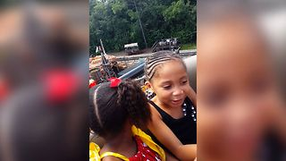 Silly Sisters Rollercoaster Reaction - Video