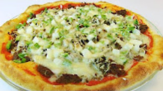Betty's Rotel mexican pizza
