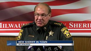 Milwaukee County's acting sheriff introduced at news conference - Video
