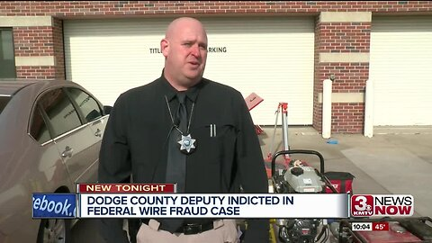 Dodge County Deputy indicted in federal wire fraud case