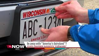 No more 'America's Dairyland' on Wisconsin license plates? - Video