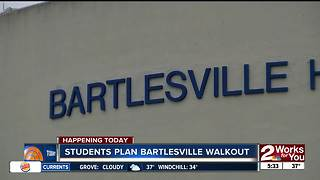 Bartlesville students plan to walk out on Friday - Video