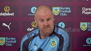 Dyche makes light of Gray's Burnley departure - Video
