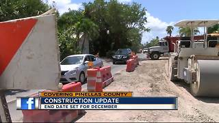 Pass-A-Grille Construction should wrap up in December - Video