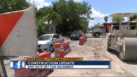 Pass-A-Grille Construction should wrap up in December