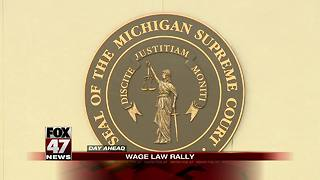 Pro-prevailing wage law rally happening Wednesday morning - Video