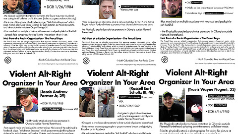 Northwest Patriots Talk About Their Experiences With The Violent Left