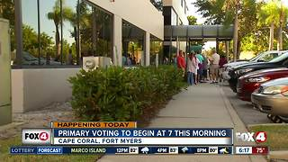Election day in Fort Myers, Cape Coral - Video