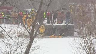 Body recovered from Green Lake ice in Shaker Heights - Video