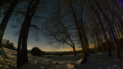 Epic Edge of the Woods Star Lapse -5K
