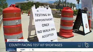 Covid-19 testing shortage in San Diego county