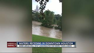Harvey's impact on Houston: One week later - Video