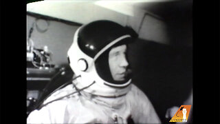 Newly Uncovered Shocking Footage Of 'Right Stuff' Pilot Chuck Yeager Crashing