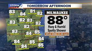 Hazy, hot and humid Thursday, highs in the 80s - Video