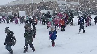 Blizzard Closes Minnesota Schools Early - Video