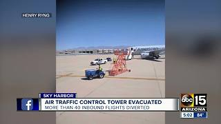 Dozens of flights diverted from Sky Harbor Sunday - Video