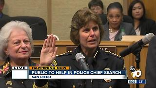 San Diego needs help to find a police chief - Video