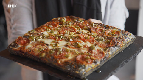 New York City's Black Square Pizzas
