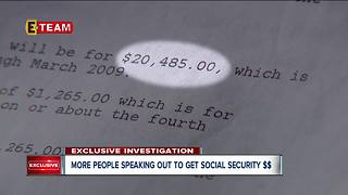 You may be eligible for Social Security money