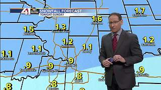 Jeff Penner Saturday AM Forecast Update 12 23 17 - Video