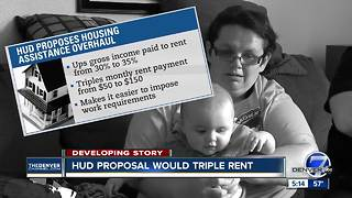 HUD proposal would triple rent - Video