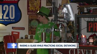 Couple hosts a virtual bar as COVID-19 restrictions continue at bars and restaurants