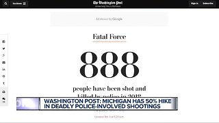 REPORT: Deadly police-involved shootings in Michigan rise 50%