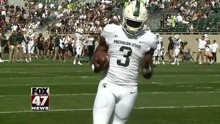 MSU football player arrested, pleads not guilty - Video