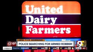 Police investigating armed robbery at UDF in Norwood - Video
