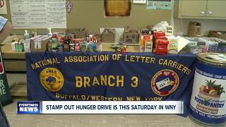 Stamp out hunger drive this Saturday - Video