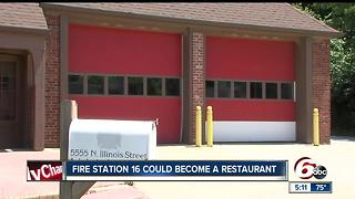 Fire station 16 could become a restaurant - Video