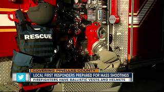 Local first responders prepared for mass shootings - Video
