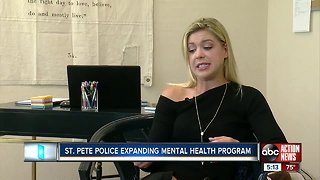 St. Pete police expanding mental health program