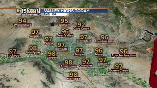Record watch this weekend in the Valley