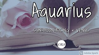 "AQUARIUS ""THE SOULMATE"""