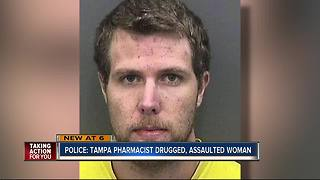 Police: Tampa pharmacist drugged, assaulted woman - Video