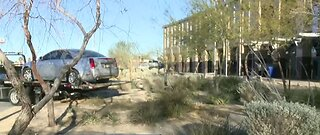 Car removed from North Las Vegas City Hall courtyard
