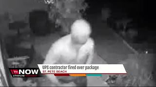 UPS driver arrested after stealing a package he delivered a few hours earlier - Video