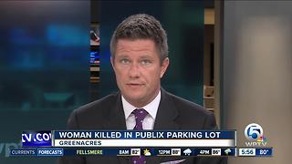 Woman fatally struck by minivan while putting away groceries outside Publix - Video