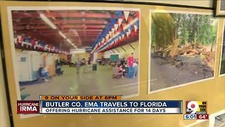 Butler Co. EMA traveling to help Florida - Video