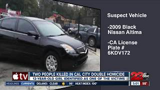 Two people killed in Cal City double homocide