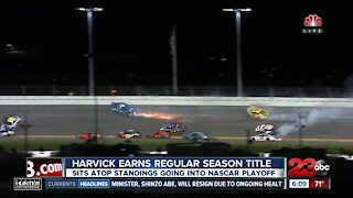 Kevin Harvick earns Nascar Regular Season Title