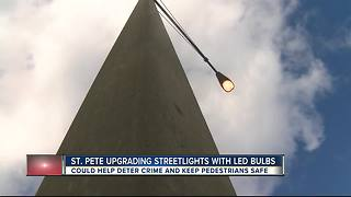 St. Pete installing new LED streetlights - Video