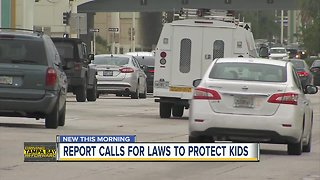 Report: Florida falls dangerously behind on road safety laws - Video