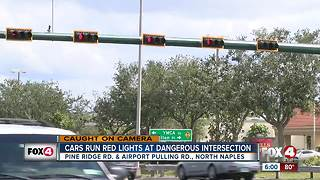 Collier deputies crack down on red light runners, aggressive drivers - Video