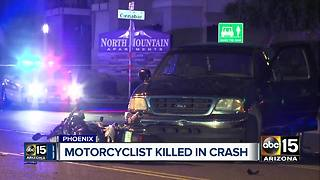Motorcyclist killed in north Phoenix accident - Video