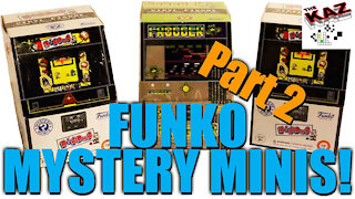 Dig Dug / Frogger Mystery Minis Unboxing Part 2 of 2