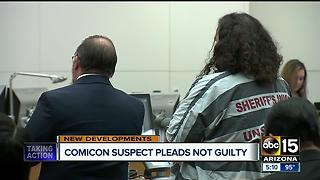 Man arrested at Phoenix Comicon with guns pleads not guilty - Video