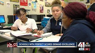 Schools with perfect MAP scores demand excellence - Video